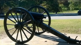Cannon on Capital grounds