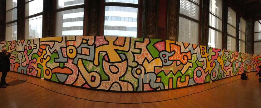 Keith Haring: A Chicago Mural at the Chicago Cultural Center